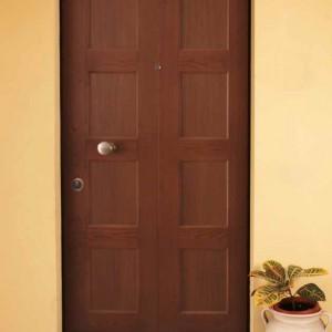 porta blindata rivestita legno